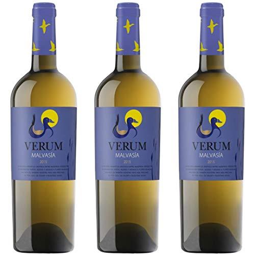 Verum Vino Blanco Malvasía - 3 Botellas - 2250 ml
