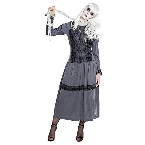Partilandia Disfraz Fantasma de Época para Mujer (M)