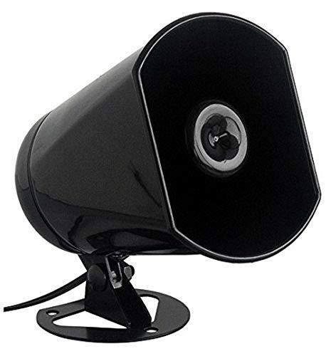XTC Hornlautsprecher/Druckkammer-Lautsprecher RUS-5-8 Watt, 400-8000 Hz - schwarz - 83x110x120 mm