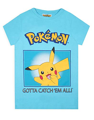 Pokemon Pikachu Pokeball Kid's T-Shirt