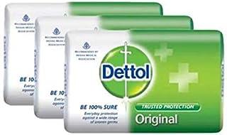 Dettol 固形石鹸オリジナル3x105g-は、信頼Dettol保護から目に見えない細菌の広い範囲を提供しています。これは、皮膚の衛生と清潔を浄化し、保護します
