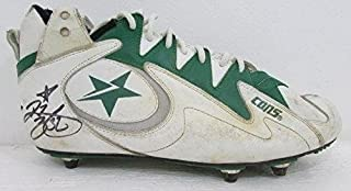Ricky Watters Philadelphia Eagles Signed Game Used Converse Cleats 125341 - Other NFL Autographed Game Used Items