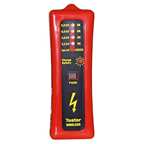 Kerbl 44669 Zaunprüfer ohne Erdspieß, LED-Anzeige, 4 Stufen von 2500-8000 Volt