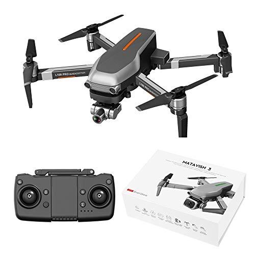 Vaorwne RC Drohne 5G L109-PRO GPS 4K HD Kamera WiFi FPV BüRstenloser Motor Faltbarer Selfie Drohnen Professional
