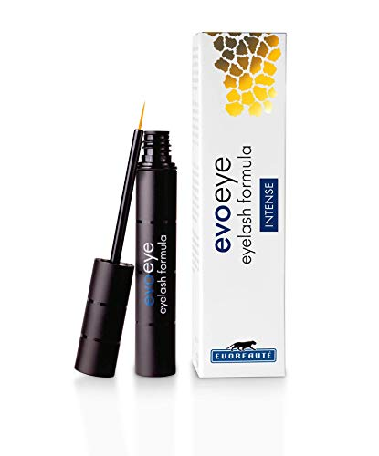 evoeye eyelash INTENSE - Wimpernserum, Wimpern Booster made in Germany - 1 x 3ml
