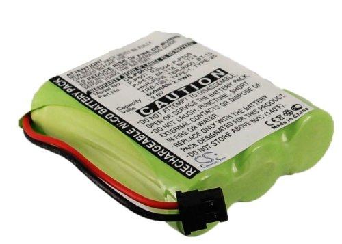 Batterie Kompatibel mit fit to Panasonic KX-TC901, TAD-3810, PQP508SVC, EX4102, CP9105, KX-TG2563, SG-1600