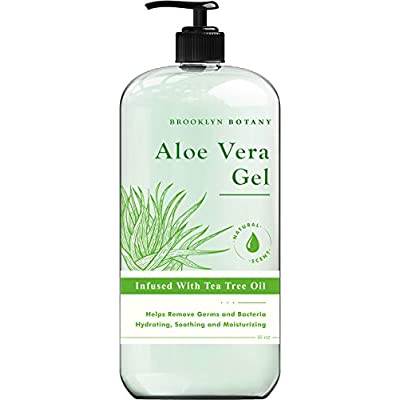 Brooklyn Botany Aloe Vera Gel - Soothe and Hydr...