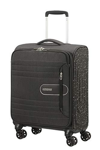 American Tourister Sonicsurfer Lifestyle - Spinner Koffer, 55 cm, 40 Liter, Schwarz (Black Speckle)