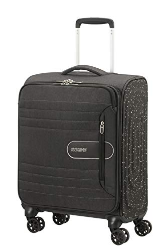 American Tourister Sonicsurfer Lifestyle - Spinner Hand Luggage 55 Centimeters 40 Black (Black Speckle)