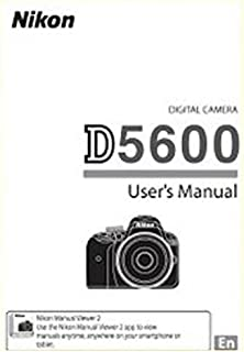 Nikon D5600 Digital Camera User's Instructions Manual