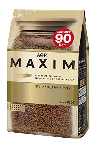AGF Maxim Japan instant coffee bag 180g (Original Version)