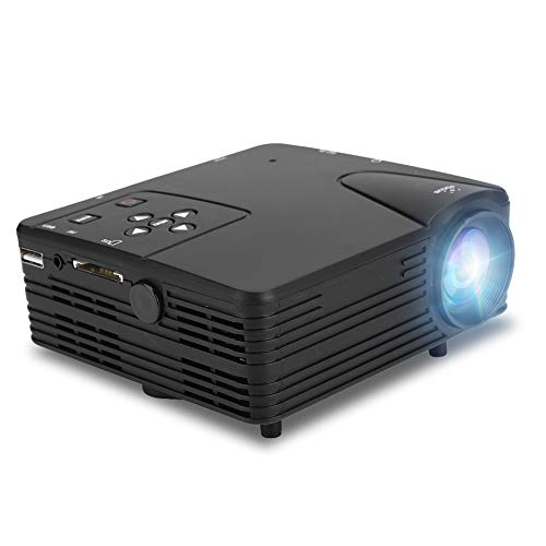 Porket Projector BIN LED HD Projection Device HDMI Mini Protable Home Cinema Theater Media Player 400: 01: 00 Contrast Ratio 32GB Indoor Outdoor for Home Friends