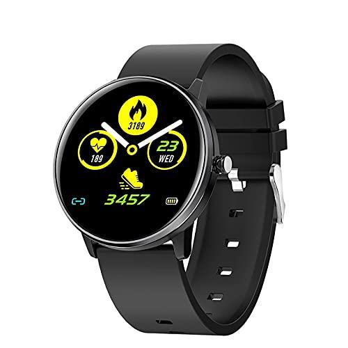 ZGZYL MX6 Smart Watch Hombres, Múltiple Múltiple Modo Deportivo IP68 Reloj De Podómetro A Prueba De Agua, Reloj De Fitness Macho Y Hembra con Oxígeno De Sangre/Monitor De Frecuencia Cardíaca,B