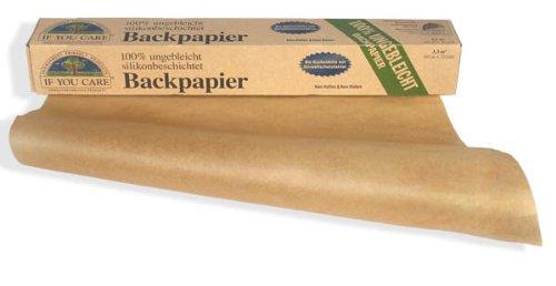 If You Care Backpapier Rolle - 100% ungebleicht aus FSC Papier, 2er Pack (2 x 10 m)