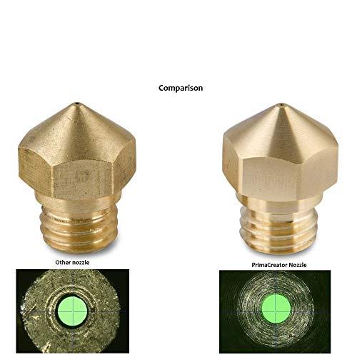 primacreator P120 latón Boquilla 0.2 mm rerap Impresora 3D E3D de ...