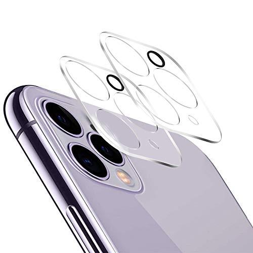 Agedate Kamera Panzerglas kompatibel mit iPhone 11 Pro/11 Pro Max, 9H Härte, Anti-Kratzen, Anti-Öl, Anti-Bläschen, Hülle Freundllich, 2.5D Runde Kante, 2 Stück