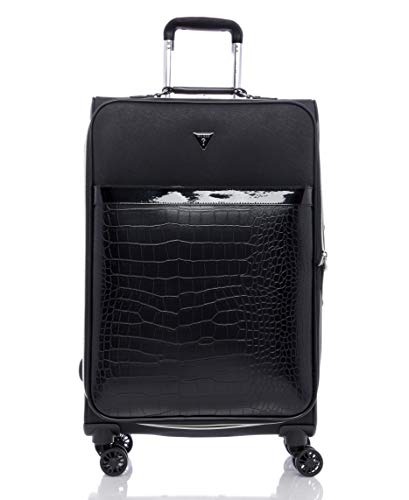 Guess Zelzah Collection 24' 8-Wheeled Spinner, Black, One Size