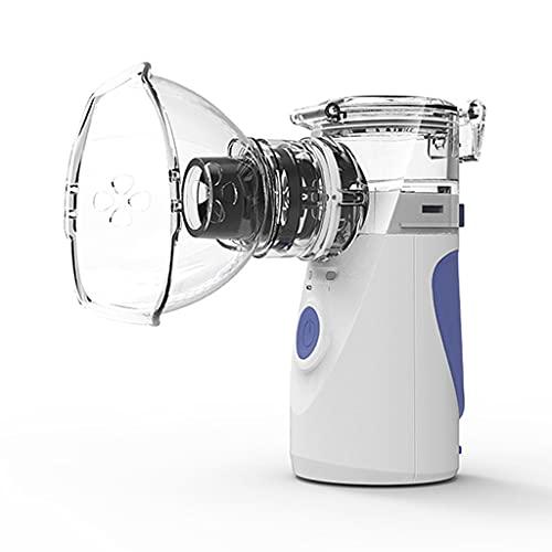 yhengg Nebulizador portátil Inhalador de Vapor de Niebla fría Máquina nebulizadora de Malla de Mano eficaz con un diseño Exquisito Niños Adultos