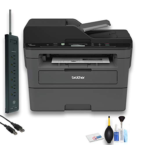 Brother DCP-L2550DW All-in-One Monochrome Laser Printer (DCP-L2550DW) Office Bundle