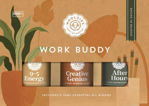 Woolzies Work Buddy Essential Oil Blends Set of 3 for...