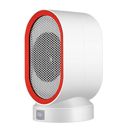 Calefactor Cerámico Portátil Mini calentador eléctrico portátil en miniatura Calefacción Ventilador 400W...