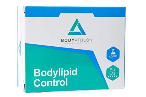 Bodyathlon– Bodylipid- Control colesterol y triglicéridos- Evita la formación de colesterol- Berberina, Levadura Roja de Arroz, Coenzima Q10, Vitamina E, Guggul- Fórmula adaptada a la normativa- Vegan