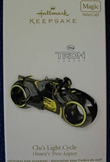 2011 Clu's Light Cycle Disney Tron Legacy Hallmark Ornament