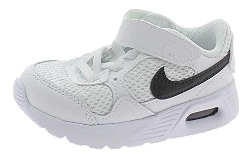 Nike Air Max SC, Scarpe da Ginnastica, White/Black-White, 26 EU