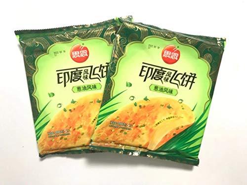 思念印度風味飛餅 【2点セット】 葱油風味 インド風味ネギパンケーキ 10枚入り 300g×2点
