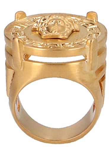 Versace Luxury Fashion Heren Ring DG54712DMT1D00H Gold