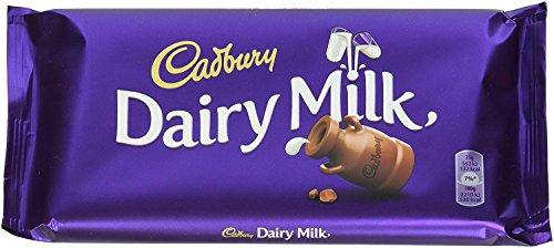 Cadbury Dairy Milk Schokolade 2 x 200 g – köstlich cremige Milchschokolade aus Großbritannien – einmalig leckere Süßigkeit mit vollmundigem Geschmack – Vollmilch