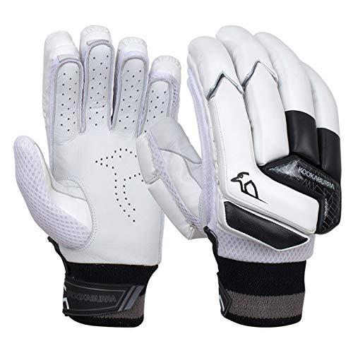 KOOKABURRA Jungen Batting Gloves 2020 Shadow 3.3 Schlaghandschuhe (Junior Rechtshänder), weiß, Right Hand