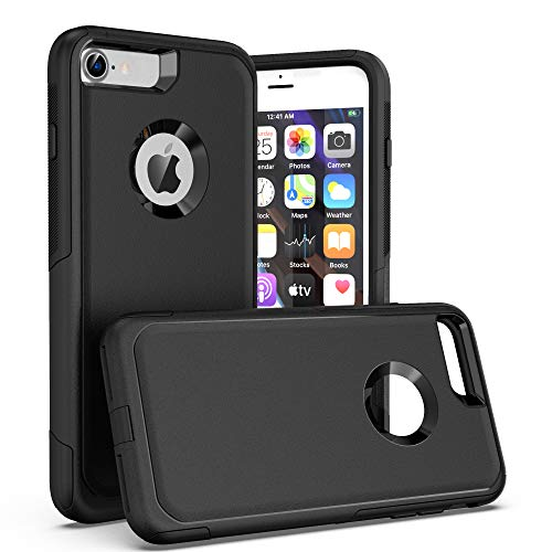 Krichit Pioneer Series Compatible with iPhone 8 Case/iPhone 7 Case/iPhone SE Case(2nd gen,Does not Show Logo), Dual Layer Design, Military Grade Drop Protection Protection Case (Not Plus)