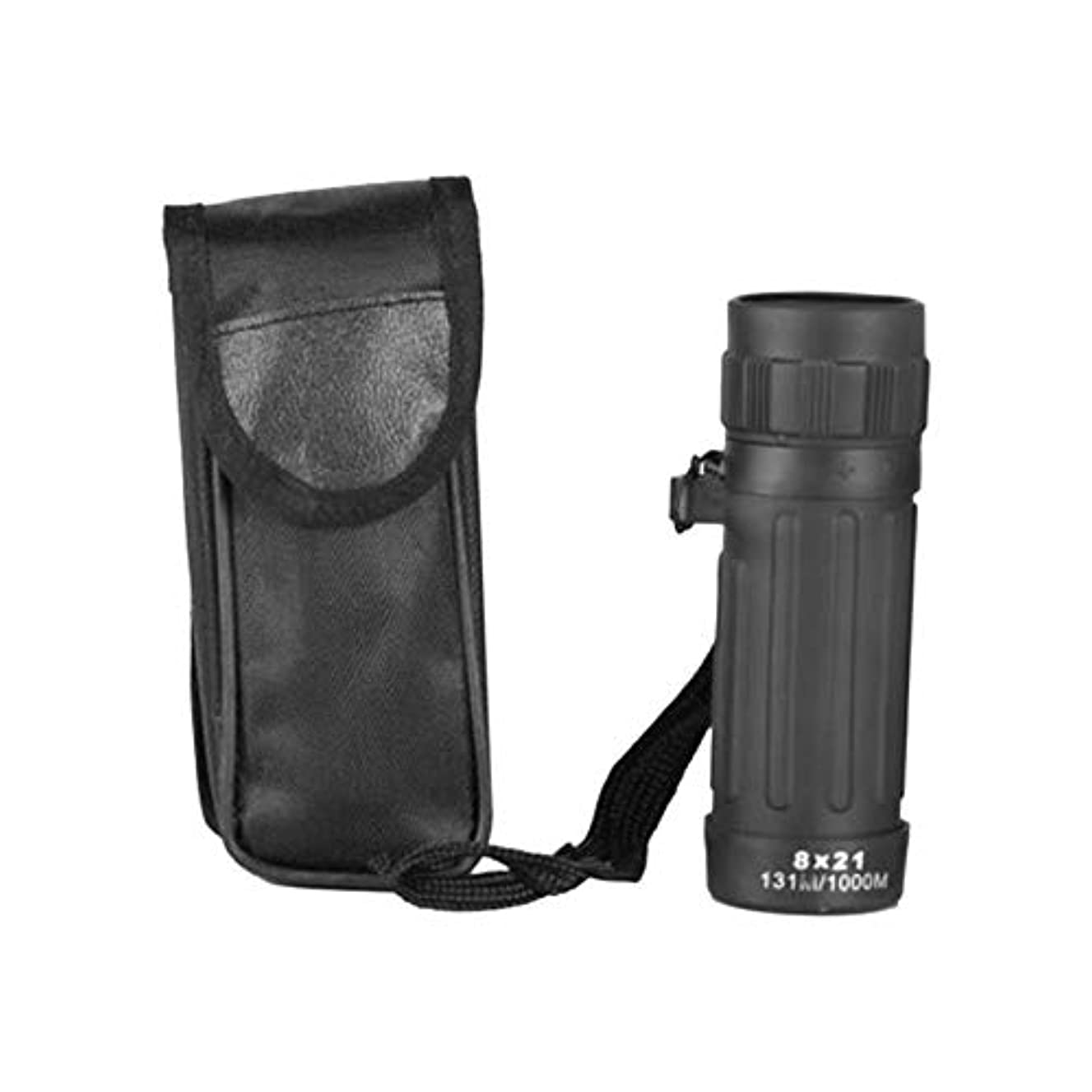 8 x 21 Compact Adjustable Focus Monocular Telescopes with Bag for Sport