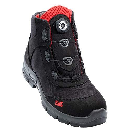 EWS Dynamic Safety S3 Sicherheitsschuh Knöchelhoch Red/Black Größe 44