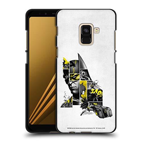 Head Case Designs - Carcasa de gel suave para Samsung teléfonos Samsung, compatible con Compatibilité: Samsung Galaxy A8 (2018)