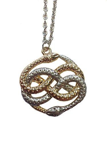 MyPartyShirt Auryn Snakes Necklace