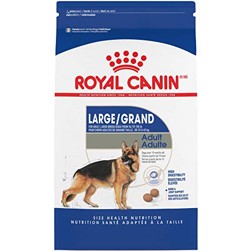 Royal Canin Large Breed Adult Dry Dog Food, 35 pounds. Bag