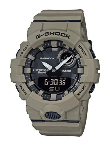 Casio Herren Analog-Digital Quarz Uhr mit Plastik Armband GBA-800UC-5AER