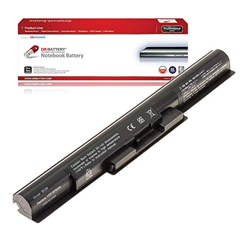 DR. BATTERY Laptop Battery for Sony VGP-BPS35A VGP-BPS35 VAIO Fit 14E 15E SVF142 SVF143 SVF144 SVF152 SVF153 SVF154 [14.8V/2200mAh/33Wh]