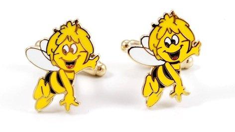 Gemelolandia | - Gemelos abeja maya, color amarillo y negro Gemelos Originales...
