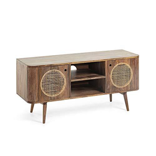 Kave Home - Het TV-meubel Geraldine 120 x 55 cm