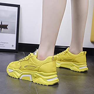 YIBEIANYU Student Casual Old Shoes Female Summer New Mesh Breathable Ladies Sneakers