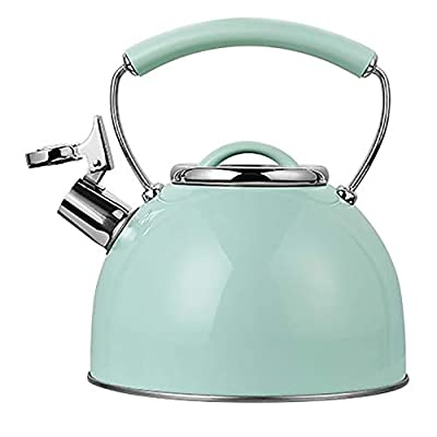 Tea Kettle for Stovetop Whistling Tea Pot,Stainless Steel Tea Kettles Tea Pots for Stove Top with Heat-Proof Handle And Lid, Stovetop Suitable for All Heat Sources 2.5L