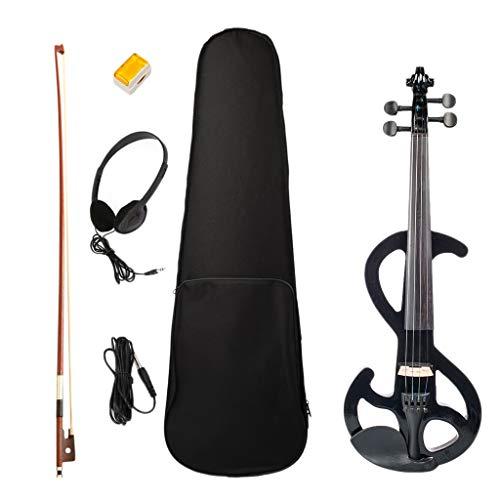gazechimp Accessorio Professionale Per Violino A Palcoscenico 4/4 Per Violino Elettrico Professionale - Nero