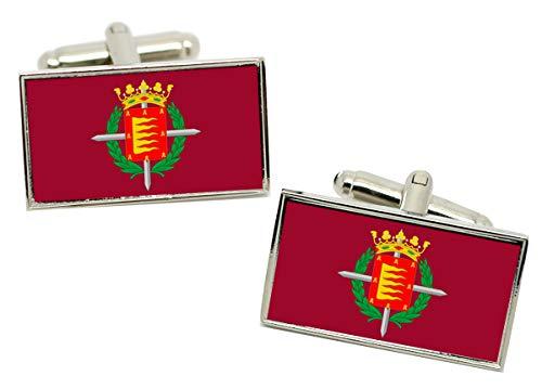 Giftshop UK Gemelos con bandera de la ciudad de Valladolid en caja