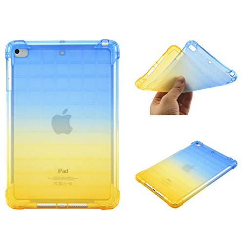 Bumina Case for iPad Mini 5 2019, [Gradient Series] Slim Fit Zachte TPU Crystal Clear Slanke Anti Slip Case Transparante Back Protector Beschermhoes voor Apple iPad Mini 5/ Mini 4 7.9 Inch Tablet 5