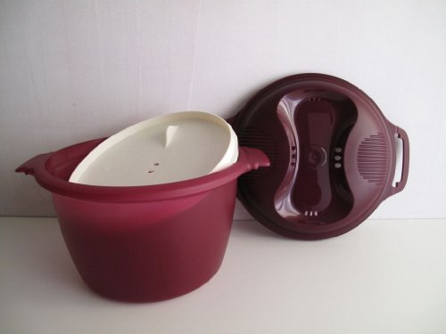 TUPPERWARE Mikrowelle Reis-Meister 2,2 L lila Teufel I56 Reiskocher Mikro Micro