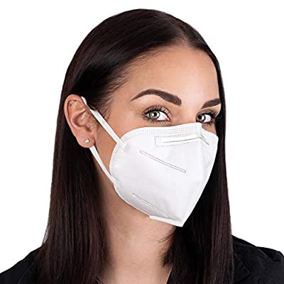 4 Layer Face Mask - PM2.5 Protection with Elastic Earloop and Nose Bridge Clip (5 Pack) by Kimble Health from KIMBLE HEALTH
