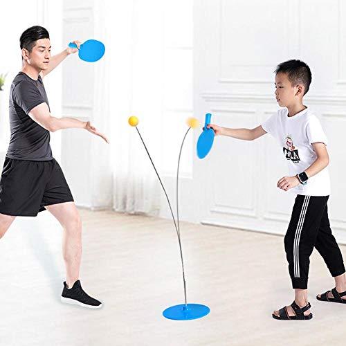 chivalrylist Tischtennis Maschine Trainer Roboter elastische weiche Welle Rebound Tischtennis Trainer
